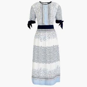 EUC J. Crew drapey keyhole dress, size 2